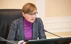 Л. Бокова: Совет Федерации уделяет значительное внимание вопросам социальной реабилитации инвалидов