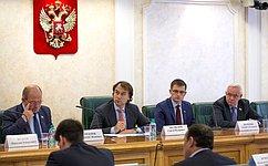 ВСовете Федерации обсудили проблемы правового использования иохраны земель
