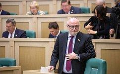 А. Клишас: Если депутаты ГД внесут законопроект обучастии нижней палаты вформировании Правительства, мы его внимательно рассмотрим