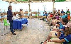 Врамках V Международного гуманитарного Ливадийского форума прошли мастер-классы известных деятелей культуры– И.Морозов