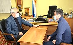 Б. Жамсуев провел прием граждан врегионе