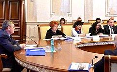 Н.Болтенко выступила назаседании Совета при губернаторе Новосибирской области повопросам охраны окружающей среды