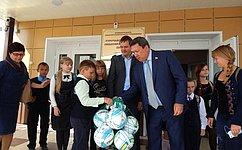 В. Полетаев провел прием населения вТурочакском районе Республики Алтай