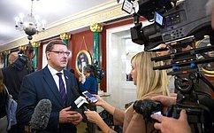 К.Косачев: Россия предлагает окружающему миру согласительную повестку дня, которая позволяет объединять, анеразъединять партнеров