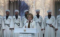 В.Матвиенко: Международный фестиваль «Великое русское слово» служит укреплению Русского мира