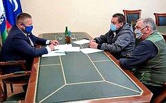 Д. Гусев обсудил сжителями Ненецкого автономного округа вопросы защиты прав потребителей, работы ЖКХ иблагоустройства территорий