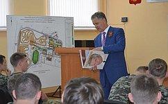 А. Волков встретился скурсантами Центра патриотического воспитания Удмуртской Республики