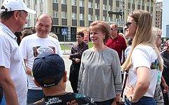 Т.Гигель приняла участие вгастрономическом фестивале «Мать Земля Алтай 2019»