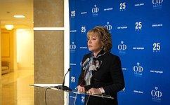 В. Матвиенко: Парламентарии активно работают над принятием законов, необходимых для реализации Послания Президента