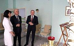 М. Щетинин отметил высокий уровень медицинского обслуживания вкраевом перинатальном центре «Дар»