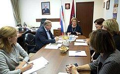З. Драгункина: Комитет уделяет большое внимание вопросам совершенствования системы среднего профессионального образования