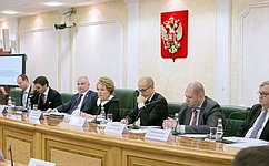 Необходимо повышать эффективность общественного регулирования всвязке смеханизмами парламентского контроля— Спикер СФ