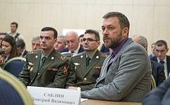 Д. Саблин обсудил смолодыми коллегами изБалашихи вопросы парламентаризма