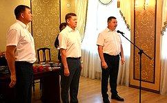А. Шевченко вручил медали «Дети войны» жителям Оренбургской области