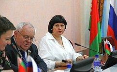 Елена Афанасьева открыла пятьдесят седьмое заседания постоянно действующего семинара при Парламентском Собрании Союза Беларуси иРоссии