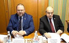 Заместитель Председателя СФ И.Умаханов провел встречу сПослом Республики УзбекистанБ.Асадовым