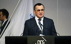 Н.Федоров выступил на138-й Ассамблее Межпарламентского союза вЖеневе ипровел ряд двусторонних встреч