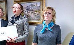 ВСовете Федерации открылась выставка художника А. Фомина «Москва— сердце России»
