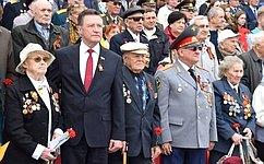 С. Рябухин принял участие впатриотической акции «Бессмертный полк» вУльяновске
