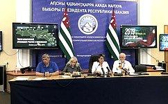 Ф.Мухаметшин: Выборы вАбхазии прошли открыто идемократично, всоответствии сзаконодательством Республики