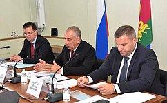 С. Митин: Совет Федерации стал площадкой конструктивного диалога для обеспечения развития отечественного промышленного садоводства