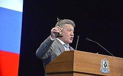 В. Озеров принял участие впраздничных мероприятиях послучаю 25– летия Думы Хабаровского края