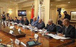 Ю. Воробьев: Будут выработаны конкретные решения поразвитию кооперационных связей между регионами ипредприятиями РФ иБеларуси