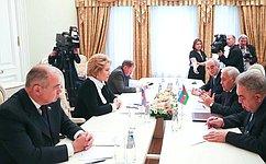 В. Матвиенко: ВРоссии положительно оценивают парламентское взаимодействие сАзербайджаном