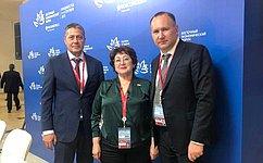 Л. Талабаева: Входе ВЭФ будут выработаны рекомендации подальнейшему развитию рыбопромышленной отрасли