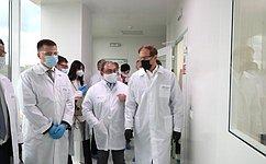А. Пронюшкин: Владимирская область поддерживает производство уникальных тест-систем для определения антител ккоронавирусу