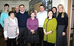 В. Новожилов посетил ряд муниципальных образований Вельского района Архангельской области