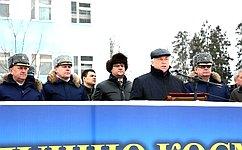 Ю.Липатов встретился вМосковской области своеннослужащими дивизии противоракетной обороны Воздушно-космических сил РФ