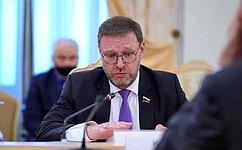Необходимо организовать систему мониторинга трудоустройства иностранных граждан, получивших высшее образование вроссийских вузах— К.Косачев