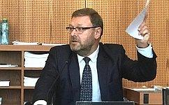 ВЖеневе состоялось первое заседание Подготовительного комитета Всемирной конференции спикеров парламентов