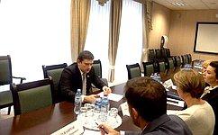 Н. Журавлев принял участие взаседании Группы стратегического видения «Россия– Исламский мир» вУфе