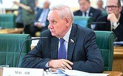 В. Марков: Взаимодействие законодательных органов власти северо-западных регионов помогает эффективно решать многие вопросы