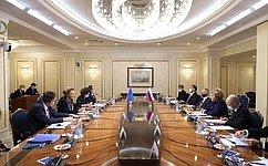 Valentina Matviyenko: We are forastronger Council ofEurope asavital mechanism ofEuropean cooperation