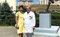 Т. Лебедева поздравила спрофессиональным праздником врачей Волгоградской области