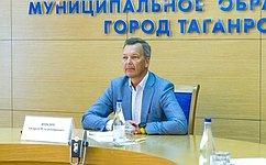 А. Яцкин: Вистории Таганрога наступает новый этап, имолодые люди должны стать его главными участниками