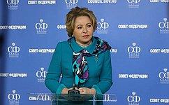 В. Матвиенко: НаНевском экологическом конгрессе важно обсудить меры посохранению чистоты планеты ипредупреждению возможных угроз
