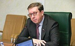 А. Майоров провел заседание Комитета СФ поаграрно-продовольственной политике иприродопользованию
