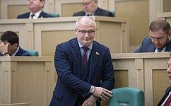 А. Клишас представил отчет оработе Комитета СФ поконституционному законодательству игосударственному строительству в2017году