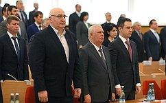 Мурат Хапсироков принял участие взаседании Государственного Совета Хасэ Республики Адыгея