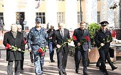 Сенаторы посетили вМахачкале сводный отряд милиции МВД Бурятии