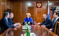 Председатель СФ иГубернатор Рязанской области обсудили перспективы социально-экономического развития региона