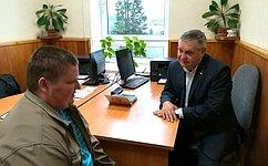 А. Ракитин провел прием граждан вРеспублике Карелия