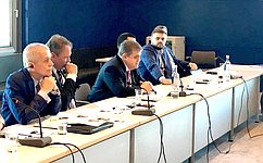 В. Джабаров: Диалог российских иамериканских парламентариев приобретает регулярный характер