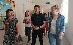 А. Шевченко: Мы должны создать все условия, чтобы наше подрастающее поколение росло здоровым исильным