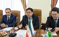 А. Акимов обсудил сиранскими парламентариями актуальные вопросы развития федерализма иместного самоуправления