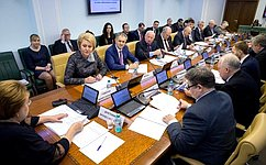 Профильный Комитет СФ обсудил Федеральный закон, касающийся объектов культурного наследия народов Российской Федерации